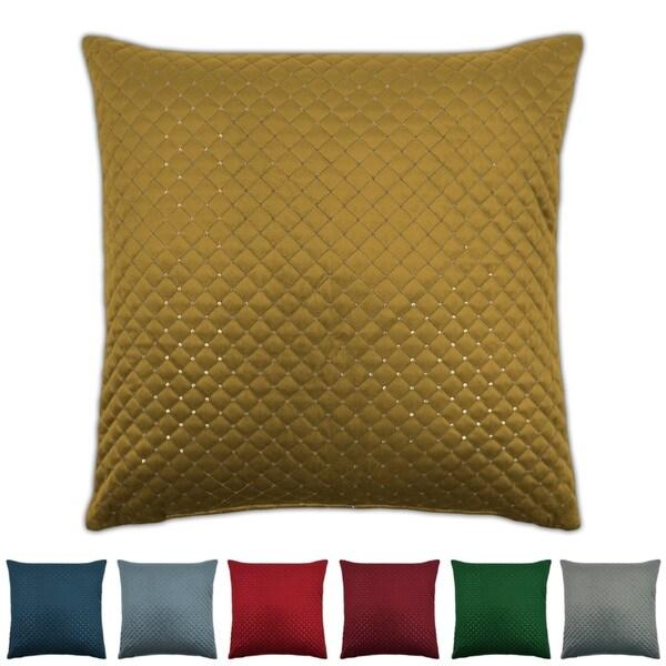 Sherry Kline Grayson 20-inch Sequins Velvet Pillow