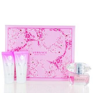 Versace Bright Crystal Women's 3-piece Set