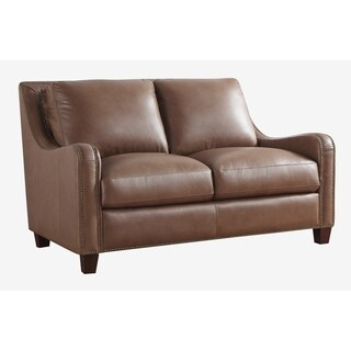 Randall Top Grain Leather Loveseat