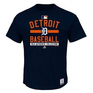 Detroit Tigers Authentic Collection Big and Tall T SIze 2XL - navy
