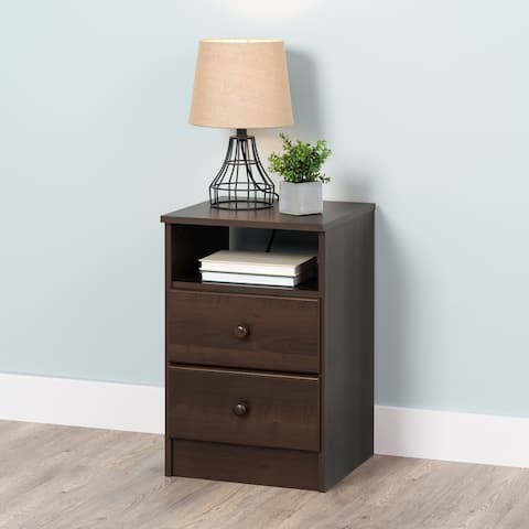Prepac Astrid 2-Drawer Nightstand