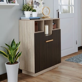 Furniture of America Toby Shoe Cabinet