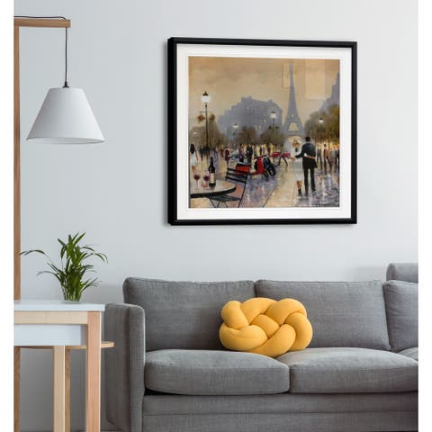 Paris Twilight -Framed Giclee Print