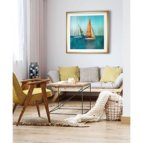 Color Tint Sail -Framed Giclee Print