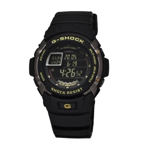 Casio Men's G7710-1 'G-Shock' Black Resin Watch