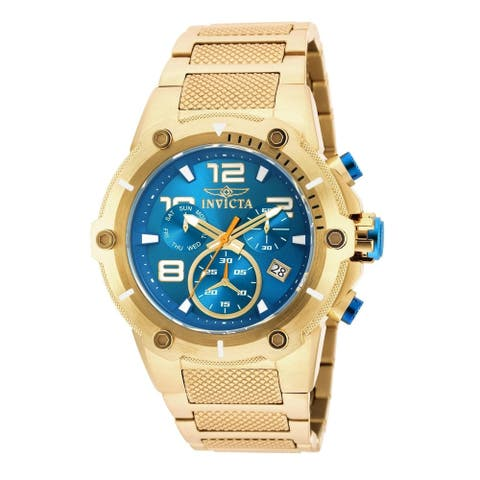 Invicta Men's 19532 'Speedway' Gold-Tone Stainless Steel Watch