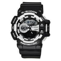 Casio Men's GA400-1A 'G-Shock' Chronograph Black Resin Watch