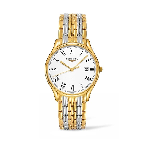 Longines Men's L4.859.2.11.7 'Lyre' Two-Tone Stainless Steel Watch. Opens flyout.