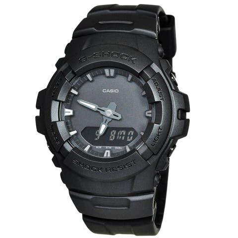 Casio Men's G100BB-1A 'G-Shock' Black Resin Watch