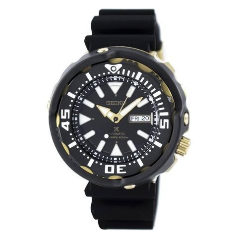 Seiko Men's SRPA82 'Prospex' Automatic Black Rubber Watch