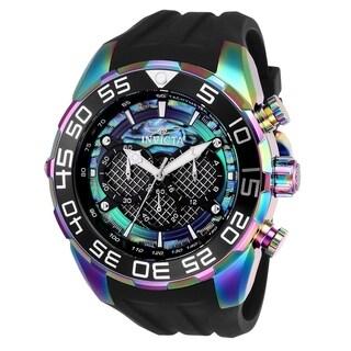 Invicta Men's 26311 'Speedway' Black Stainless Steel Watch