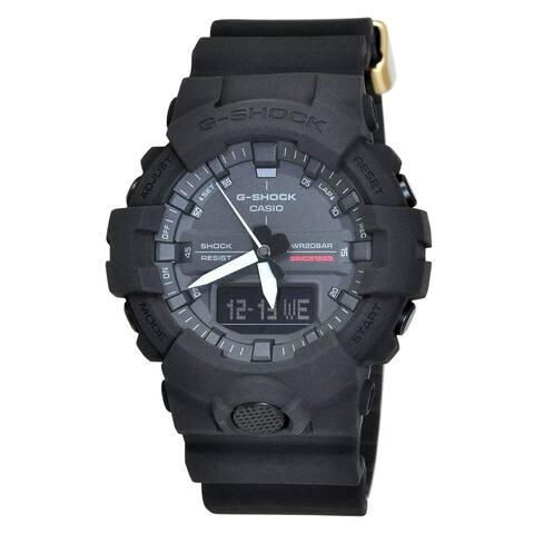 Casio Men's GA835A-1A 'G-Shock' Black Resin Watch