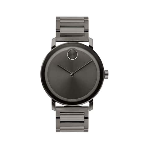 Movado Men's 3600509 'Bold ' Black Stainless Steel Watch