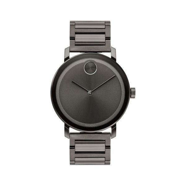 b3f786a52c384d Shop Movado Men's 3600509 'Bold ' Black Stainless Steel Watch - Free  Shipping Today - Overstock - 24186017