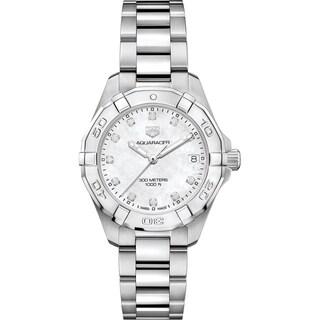 Tag Heuer Women's WBD1314.BA0740 'Aquaracer' Diamond Stainless Steel Watch