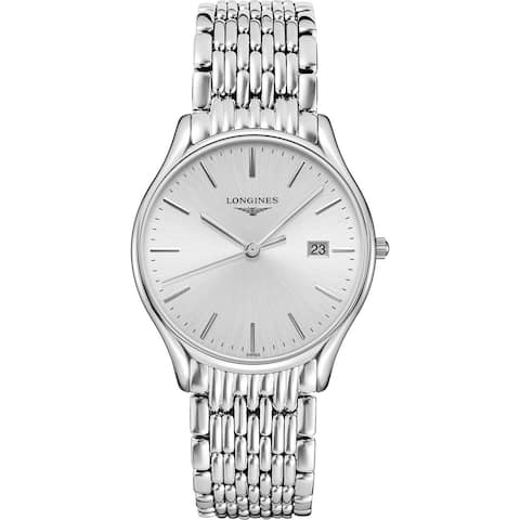Longines Men's L4.859.4.72.6 'Lyre' Stainless Steel Watch