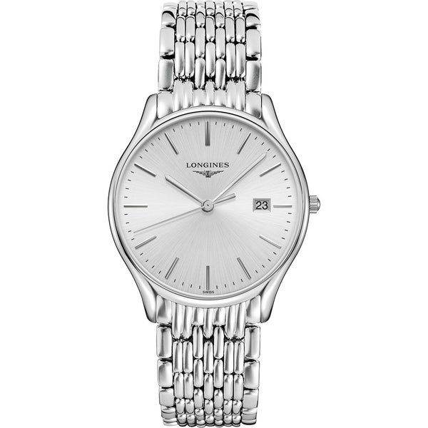 Longines Men's L4.859.4.72.6 'Lyre' Stainless Steel Watch. Opens flyout.