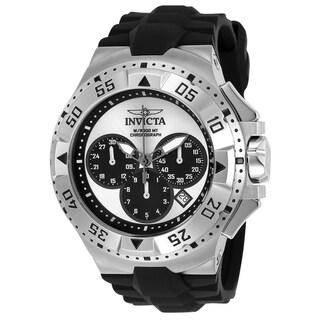 Invicta Men's 23038 'Excursion' Reserve Black Polyurethane Watch