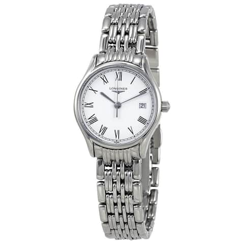 Longines Women's L4.259.4.11.6 'Lyre' Stainless Steel Watch