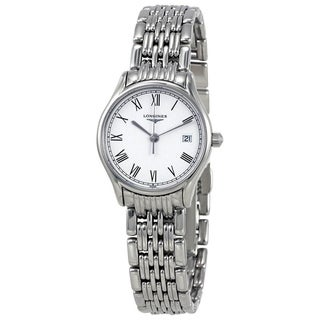 Link to Longines Women's L4.259.4.11.6 'Lyre' Stainless Steel Watch Similar Items in Men's Watches