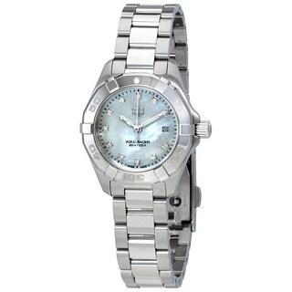 Tag Heuer Women's WBD1414.BA0741 'Aquaracer' Diamond Stainless Steel Watch