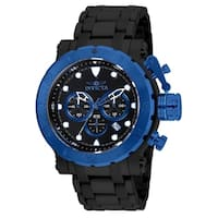 Invicta Men's 26506 'Coalition Forces' Black Stainless Steel Watch