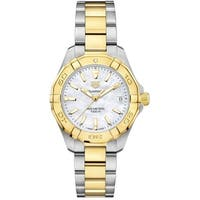 Tag Heuer Women's WBD1320.BB0320 'Aquaracer' 18kt Yellow Gold Two-Tone Stainless Steel and Gold Watch