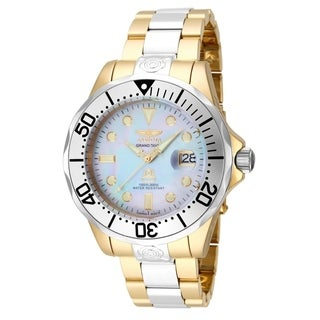 Invicta Men's 16035 'Pro Diver' Gold-Tone and Silver Stainless Steel Watch