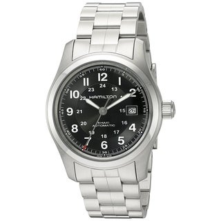 Link to Hamilton Men's H70515137 'Khaki Field' Automatic Stainless Steel Watch Similar Items in Men's Watches