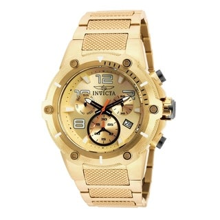 Invicta Men's 19529 'Speedway' Gold-Tone Stainless Steel Watch