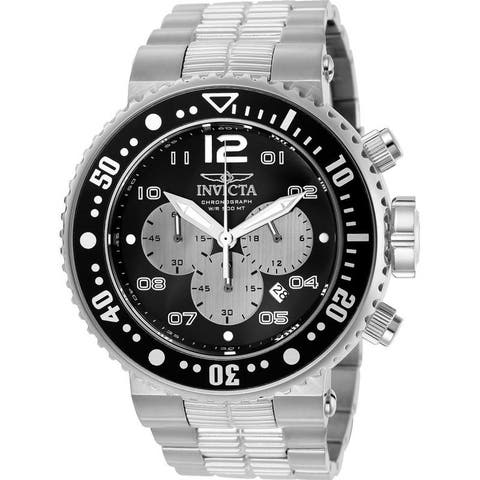 Invicta Men's 25073 'Pro Diver' Stainless Steel Watch