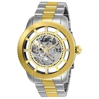 Invicta Men's 27552 'Objet D Art' Gold-Tone and Silver Stainless Steel Watch