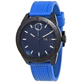 Link to Movado Men's 3600459 'Bold' Blue Silicone Watch Similar Items in Men's Watches
