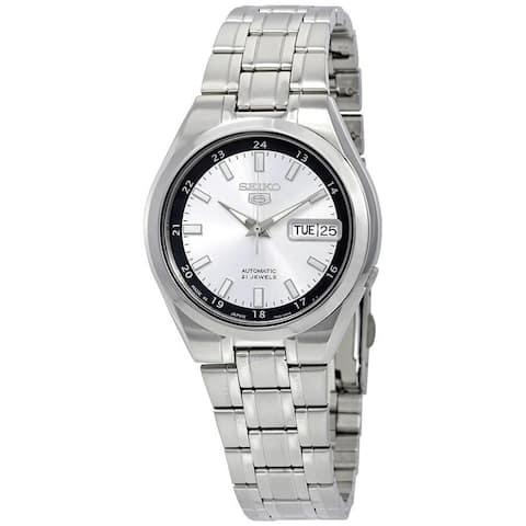 Seiko Men's SNKG19J1 'Series 5' Stainless Steel Watch