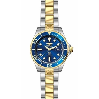 Invicta Men's 27613 'Pro Diver' Gold-Tone and Silver Stainless Steel Watch