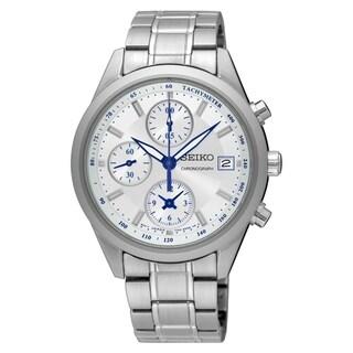 Seiko Women's SNDV51 Chronograph Stainless Steel Watch