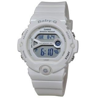Casio Women's BG6903-7B 'Baby G' Chronograph White Resin Watch
