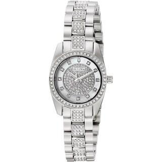 Bulova Women's 96L253 'Crystal' Crystal Stainless Steel Watch