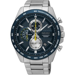 Link to Seiko Men's SSB259 Chronograph Stainless Steel Watch Similar Items in Men's Watches