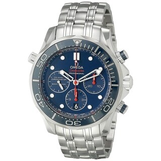 Omega Men's 212.30.44.50.03.001 'Seamaster' Chronometer Chronograph Automatic Stainless Steel Watch