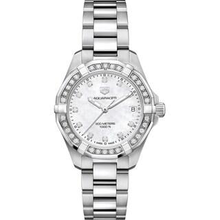 Tag Heuer Women's WBD1315.BA0740 'Aquaracer' Diamond Stainless Steel Watch