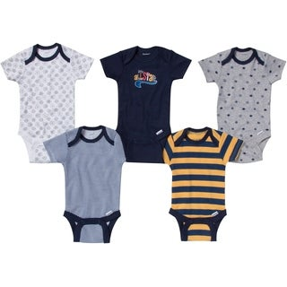 Gerber Baby Boy Onesies All Star - 5 Pack - Newborn