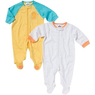 Gerber Zip Front Sleep 'n Play Duck - 2 Pack - Newborn