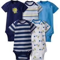 Gerber Baby Boy Onesies Safari - 5 Pack - 3-6 Months