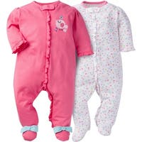 Gerber Zip Front Sleep 'n Play Birdie - 2 Pack - Newborn