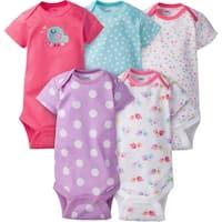 Gerber Baby Girl Onesies Birdie - 5 Pack - 0-3 Months