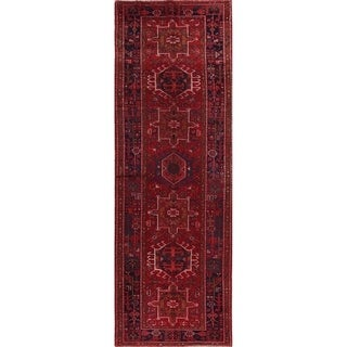 Copper Grove Liberec Hand-knotted Geometric Wool Area Rug - 11'5 x 3'10