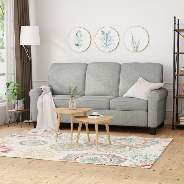 Shop Davies Traditional 3-Seater Sofa by Christopher Knight ...