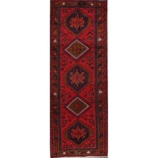 Copper Grove Liberec Hand-knotted Red Tribal Wool Area Rug - 10' x 3'8