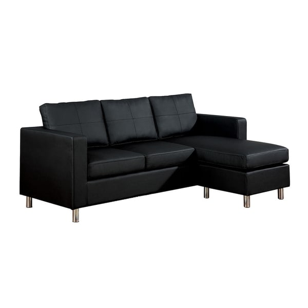 Shop HomeRoots Furniture Modern Contemporary Sectional Sofa with ...
